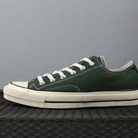 Converse 1970s Fashion Canvas Flats Sneakers Green