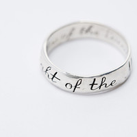 Talon Light of the Moon Ring in Silver - Urban Outfitters