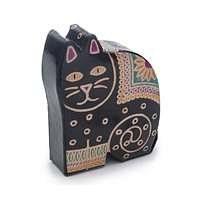 Leather Kitty Coin Bank or Piggy Bank