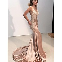 Sexy Mermaid Prom Dress, Prom Dresses, Pageant Dress, Evening Dress, Ball Dance Dresses, Graduation School Party Gown, DT0638