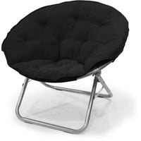 Walmart: Mainstays Large Microsuede Saucer Chair, Multiple Colors