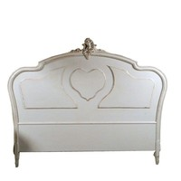 Pre-owned Vintage Louis XV Style Head Board