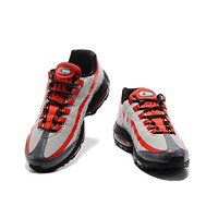 Air Max 95 Fire Red/ Grey