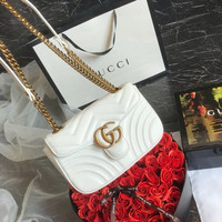 GUCCI GG Marmont matelassé mini bag