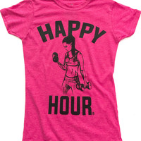 Crossfit Workout Weightlifting T-Shirt for Women