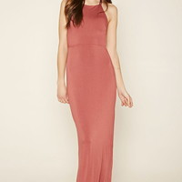 High-Slit Strappy Maxi Dress | Forever 21 - 2000176225