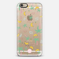 Tropic Doodle - transparent iPhone case iPhone 6 case by Don't Tell Anyone | Casetify