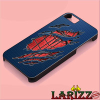 """Peter Parker Ripped Torn cloth for iphone 4/4s/5/5s/5c/6/6+, Samsung S3/S4/S5/S6, iPad 2/3/4/Air/Mini, iPod 4/5, Samsung Note 3/4 Case """"007"""""""