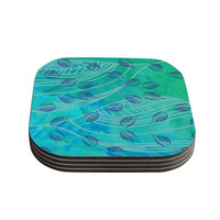 "Catherine Holcombe ""Sweet Summer Swim"" Coasters (Set of 4)"