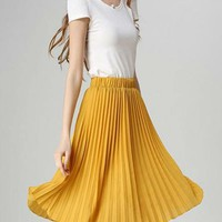 Pleats for Days Skirt