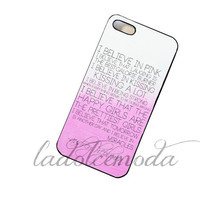 AUDREY HEPBURN quote phone case summer 2013 collection pink ombre hard plastic case iphone 4 iphone 5 samsung galaxy s3