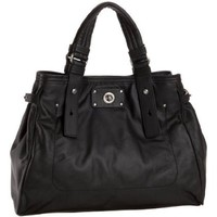 Marc by Marc Jacobs Totally Turnlock Lucy Satchel,Black,one size
