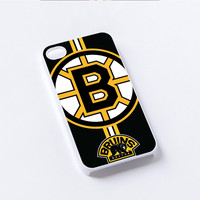 Boston Bruins logo iPhone 4/4S, 5/5S, 5C,6,6plus,and Samsung s3,s4,s5,s6