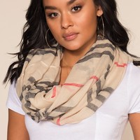 Day By Day Infinity Scarf