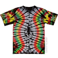 Exodus Tie Dye T Shirt on Sale for $16.95 at The Hippie Shop