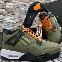 UNDEFEATED x Air Jordan 4 sneakers basketball shoes