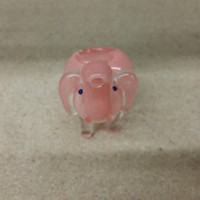 Small Pink Elephant Pipe