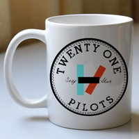 twenty one pilots, 21 pilots band mug, Ceramic Mug, Coffee Mug