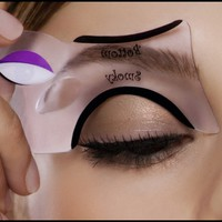 New! Smokey Eye Makeup Stencil - Top & Bottom Eyeliner - Eye Makeup Sets