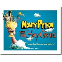 Tin Sign Dorm Room Decor - College Dorm Supplies for Dorm Room Decoration plays off funny monty python comedy company fit for comedy lovers in college