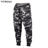 Men's Camouflage Joggers Military Pants Trousers Pantaloon home Sweat Pants For Men