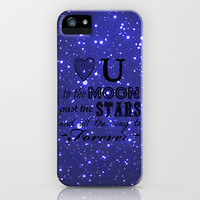 Love You iPhone & iPod Case by Shawn King