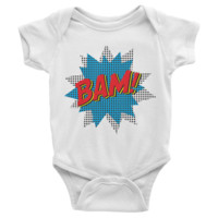 BAM Infant short sleeve Onesuit