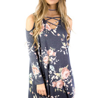 Southgate Navy Floral Dress