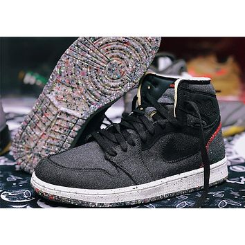 "Air Jordan 1 High Zoom ""Space Hippie"" high-top sneakers basketball shoes"
