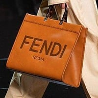 Fendi 2020 new embossed logo women handbag shoulder messenger bag