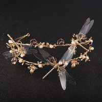 Dragonfly Tiara - Crown Accessory