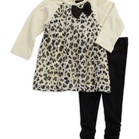 A.B.S. By Allen Schwartz Baby Girls Two Piece Animal Print Set