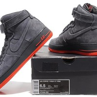 Nike Air Force 1 Low AF1 Black For Women Men Running Sport Casual Shoes Sneakers