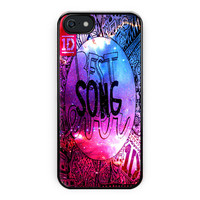 One Direction Best Song Galaxy iPhone 5/5S Case