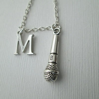 Microphone, Initial Friendship Necklace