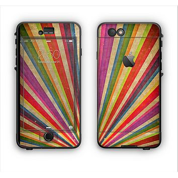 The Vinatge Sprouting Ray of colors Apple iPhone 6 Plus LifeProof Nuud Case Skin Set