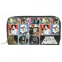 Star Wars Large Zip Around Wallet