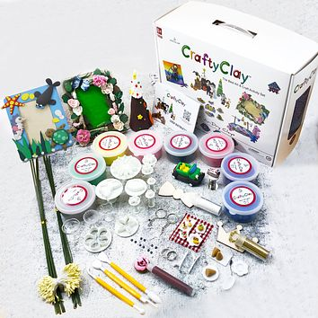 GCS01 Air Dry Clay Modeling Set Best Gift Box Free Shipping 60% OFF