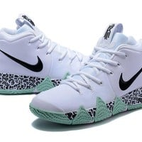 Best Deal Online Nike Kyrie 4 Ivring White Green Black Men Sneakers