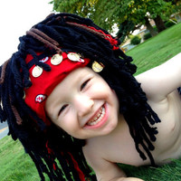 Pirate Wig Boy Halloween Costume 2T 3T Pirates of the by YumBaby