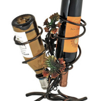 Grapevine Trellis 2 Bottle Wine Holder