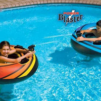Swimming Pool Inflatable Inner Tube - Dual Squirter