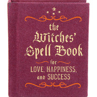 The Witches' Spell Book: For Love, Happiness, And Success Mini Hardcover Book