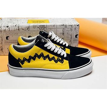 Vans x Spoony OS Embroidery Running Shoes 36--44