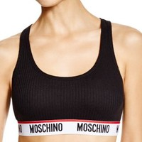 Moschino Cotton Bralette #46095979 | Bloomingdales's