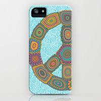 Peace is Groovy iPhone & iPod Case by Groovity