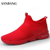 summer Tenis Masculino Men Sneakers Breathable Mesh Sport Shoes Men Tennis Shoes Male Stability Athletic Men Trainers C4
