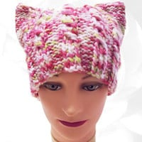 PussyHat, Pink PussyHat, PussyHat Project, Green PussyHat, White PussyHat, Pussy Hat, Cat Hat, PussyCat Hat, Womens March on Washington