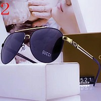 Gucci Fashion Women Men Summer Sun Shades Eyeglasses Glasses Sunglasses