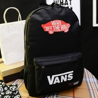 DCCKN6V Vans' Casual Sport Laptop Bag Shoulder School Bag Backpack